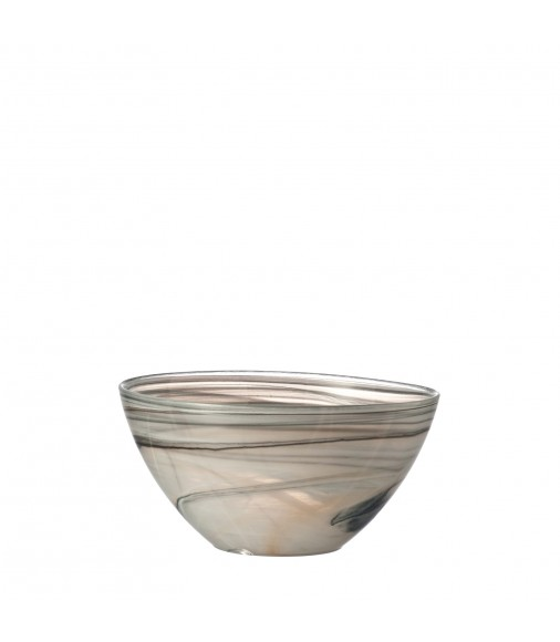 Salatschale Alabastro 22 cm beige