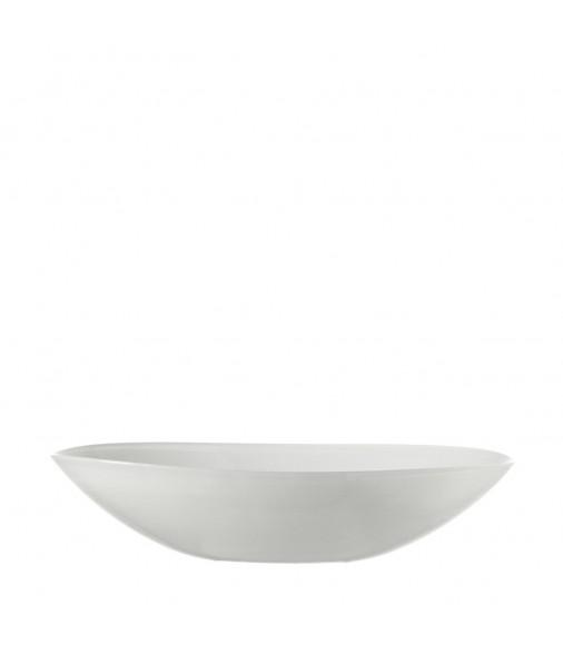 Schale Alabastro 32 cm weiß