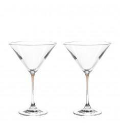 Set 2 Cocktailschalen La Perla marrone
