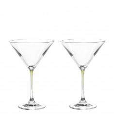 Set 2 Cocktailschalen La Perla verde