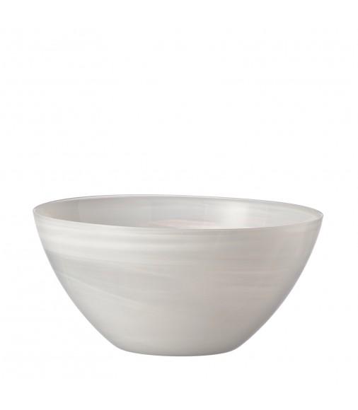 Salatschale Alabastro 30 cm weiß