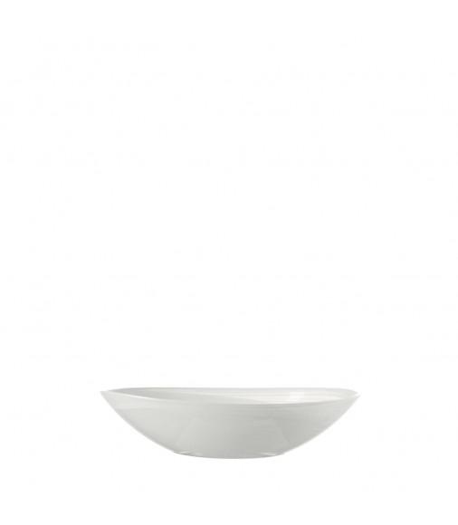 Schale Alabastro 22 cm weiß