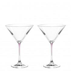Set 2 Cocktailschalen La Perla viola